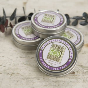 Lavender Tea Tree Body Balms group of four