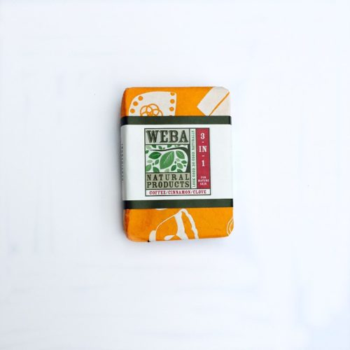 Revive Coffee bar soap 3 in 1 cruelty free