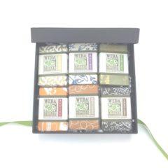 WEBA Natural Products Six Soap Gift Set natural cruelty free holiday birthday