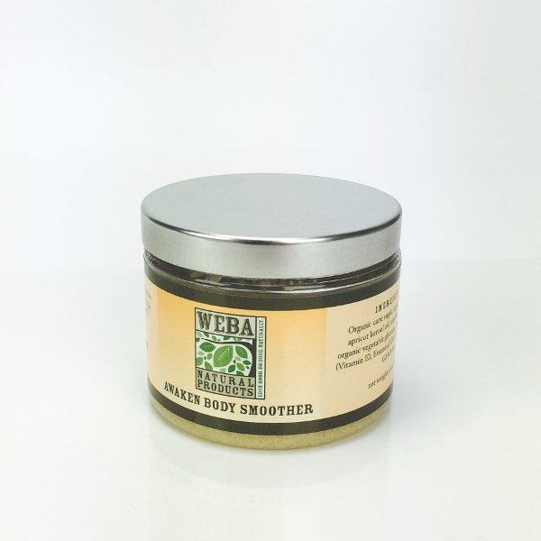 Citrus sugar scrub WEBA Natural Products