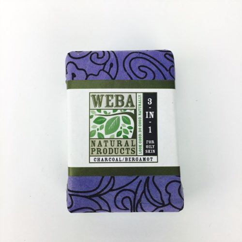 Activated Charcoal and Bergamot Bar Soap made in USA