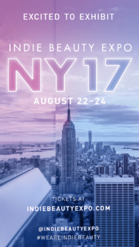 Indie Beauty Expo 2017 in NYC