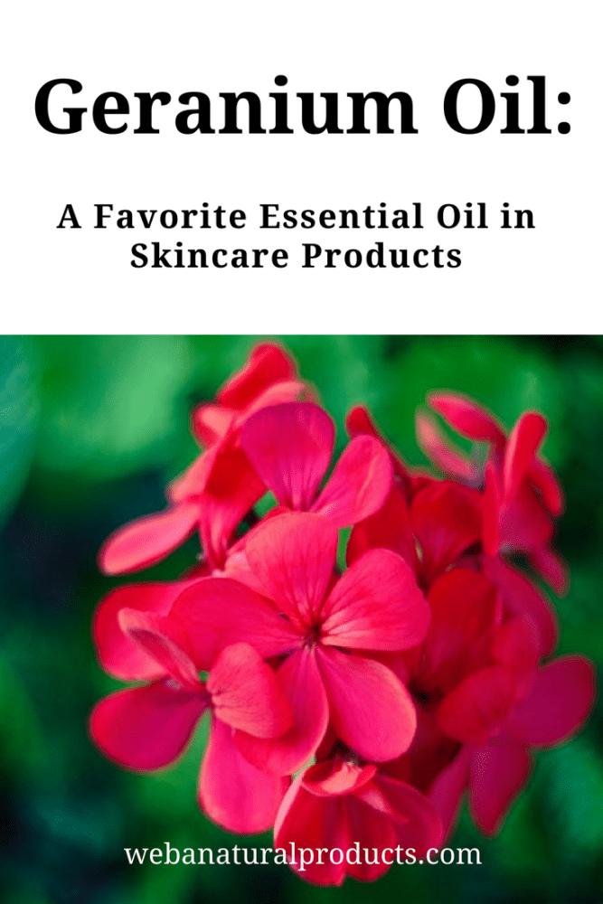 Geranium Oil: A Skincare Favorite