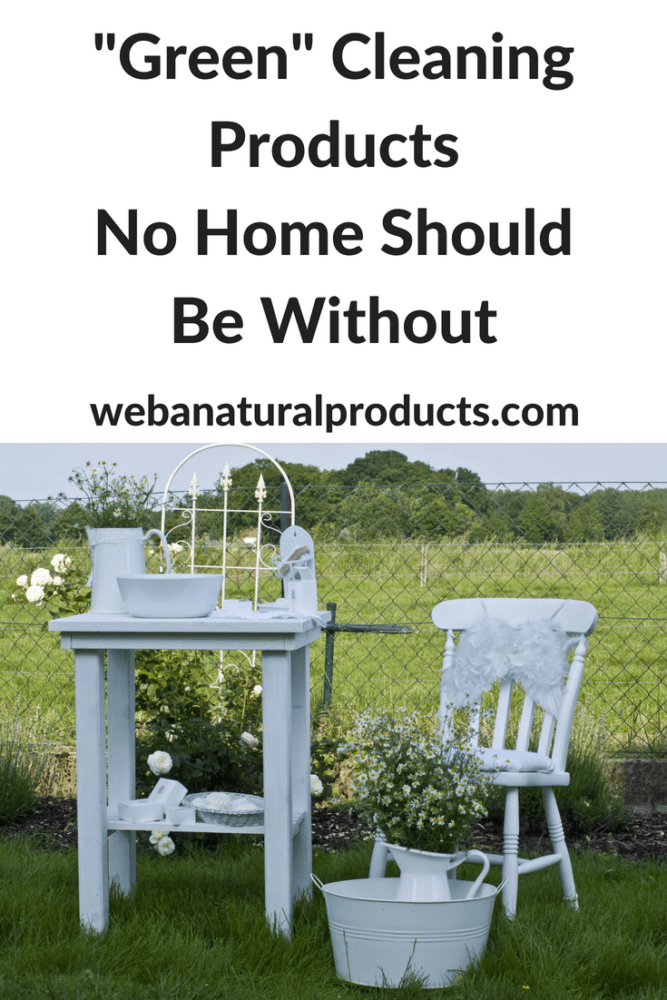 Green cleaning products no home should be without