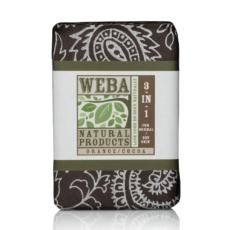 Indulge botanical 3 in 1 bar soap with cocoa powder, orange and cinnamon oils
