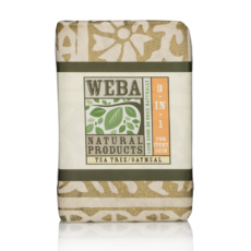 """Heal"" botanical 3 in 1 bar soap with tea tree oil and oatmeal"