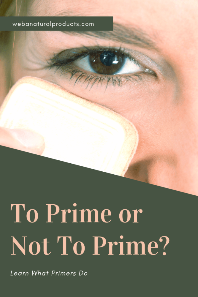 To Prime or Not to Prime Pinterest graphic
