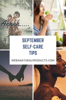 September Self Care Tips Blog Post