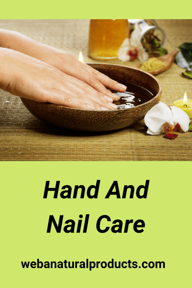 Hand and nail care blog post