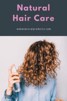 natural hair care blog post