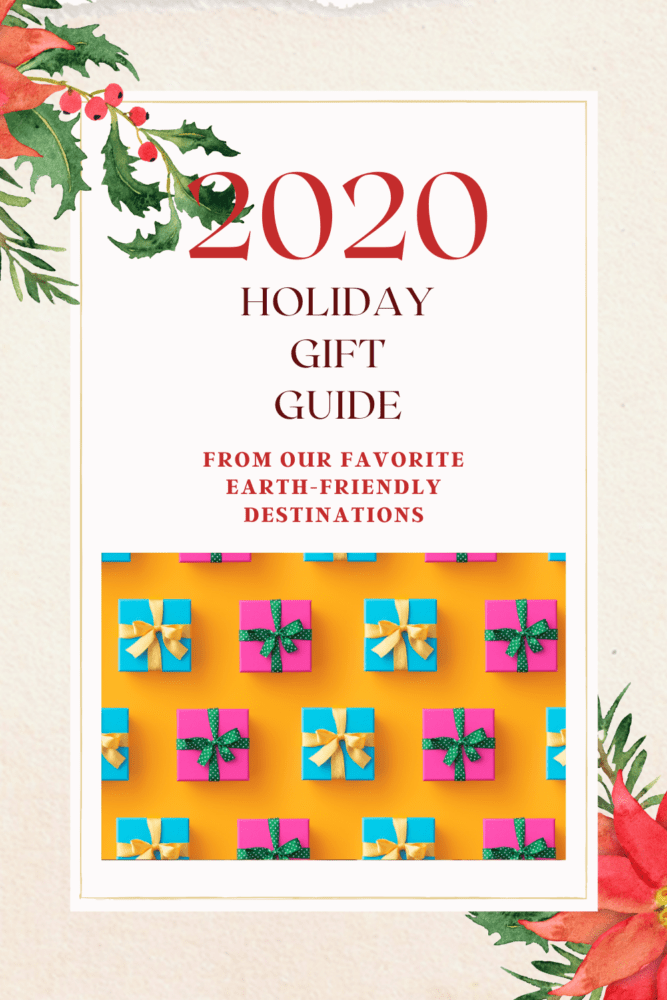 2020 Holiday Gift Guide blog post graphic
