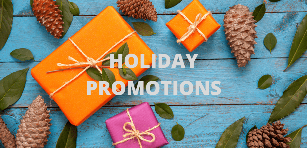 holiday promotions webpage image