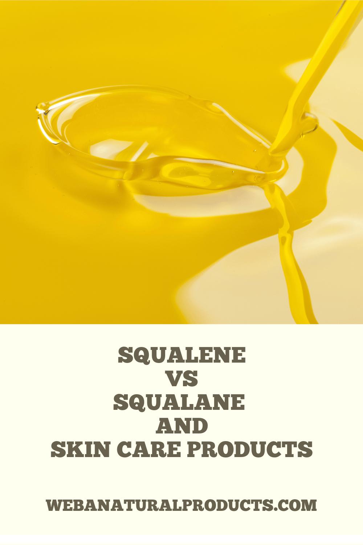 squalene vs squalane Pinterest